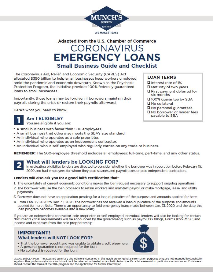081078_0420 COVID-19 Emergency Loans Letter_Munch_040420