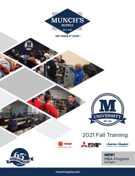 2021 Fall Training